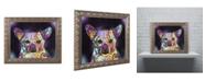 """Trademark Global Dean Russo 'Cheemix' Ornate Framed Art - 14"""" x 11"""" x 0.5"""""""