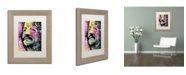 "Trademark Global Dean Russo 'Ringo Starr' Matted Framed Art - 14"" x 11"" x 0.5"""