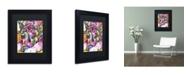 "Trademark Global Dean Russo 'Lying Dane' Matted Framed Art - 11"" x 14"" x 0.5"""