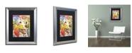"""Trademark Global Dean Russo 'Dakota II' Matted Framed Art - 20"""" x 16"""" x 0.5"""""""
