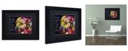 "Trademark Global Dean Russo 'Gratitude Pitbull' Matted Framed Art - 11"" x 14"" x 0.5"""