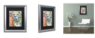 """Trademark Global Dean Russo 'The Boxer' Matted Framed Art - 20"""" x 16"""" x 0.5"""""""