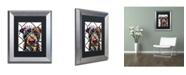 "Trademark Global Dean Russo 'Choose Adoption' Matted Framed Art - 14"" x 11"" x 0.5"""