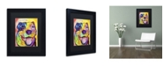 """Trademark Global Dean Russo 'Have Pittie' Matted Framed Art - 11"""" x 14"""" x 0.5"""""""