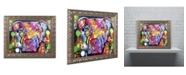 "Trademark Global Dean Russo 'The Brooklyn Pit Bull' Ornate Framed Art - 14"" x 11"" x 0.5"""