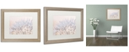 "Trademark Global Cora Niele 'Dandelion Dew II' Matted Framed Art - 20"" x 16"" x 0.5"""
