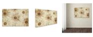 "Trademark Global Cora Niele 'Vintage Daisies' Canvas Art - 24"" x 16"" x 2"""