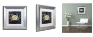 "Trademark Global Color Bakery 'Maritime Blues III' Matted Framed Art - 11"" x 0.5"" x 11"""