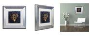 "Trademark Global Color Bakery 'Maritime Blues VI' Matted Framed Art - 11"" x 0.5"" x 11"""