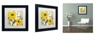 "Trademark Global Color Bakery 'Carina I' Matted Framed Art - 11"" x 11"" x 0.5"""