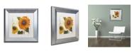"""Trademark Global Color Bakery 'Sundresses II' Matted Framed Art - 11"""" x 0.5"""" x 11"""""""