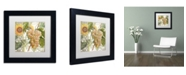 """Trademark Global Color Bakery 'Dolcetto IV' Matted Framed Art - 11"""" x 11"""" x 0.5"""""""