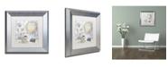 "Trademark Global Color Bakery 'Beach House II' Matted Framed Art - 11"" x 0.5"" x 11"""