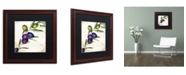 """Trademark Global Color Bakery 'Olive Branch III' Matted Framed Art - 16"""" x 0.5"""" x 16"""""""