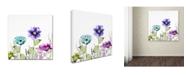 "Trademark Global Color Bakery 'Avril II' Canvas Art - 35"" x 2"" x 35"""