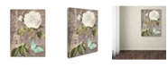 """Trademark Global Color Bakery 'White Rose' Canvas Art - 35"""" x 2"""" x 47"""""""