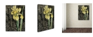 """Trademark Global Color Bakery 'Ode to Yellow Flowers' Canvas Art - 14"""" x 2"""" x 19"""""""
