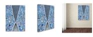 "Trademark Global Colin Johnson 'The Blue Thread' Canvas Art - 32"" x 24"" x 2"""