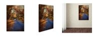 """Trademark Global Jai Johnson 'Allure Of Autumn' Canvas Art - 24"""" x 16"""" x 2"""""""