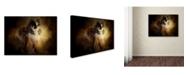 "Trademark Global Jai Johnson 'Sitting In Autumn' Canvas Art - 24"" x 18"" x 2"""