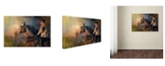 "Trademark Global Jai Johnson 'Into The Turn' Canvas Art - 47"" x 30"" x 2"""