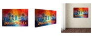 "Trademark Global Jai Johnson 'Sending Love To Jacksonville' Canvas Art - 32"" x 22"" x 2"""