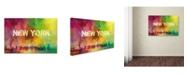 "Trademark Global Jai Johnson 'Sending Love To New York' Canvas Art - 24"" x 16"" x 2"""