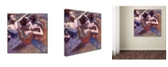 "Trademark Global Degas 'Dancers' Canvas Art - 18"" x 18"" x 2"""