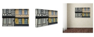 "Trademark Global Cora Niele 'Timber Framed Houses' Canvas Art - 47"" x 30"" x 2"""