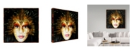 "Trademark Global Dana Brett Munach 'Of a Feather' Canvas Art - 24"" x 24"" x 2"""
