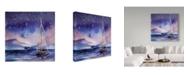 """Trademark Global Irina Trzaskos Studio 'Coastal III' Canvas Art - 18"""" x 18"""" x 2"""""""