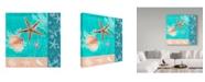 "Trademark Global Irina Trzaskos Studio 'Nautical Design II' Canvas Art - 35"" x 35"" x 2"""