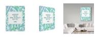 "Trademark Global Irina Trzaskos Studio 'LEAVES PATTERN' Canvas Art - 24"" x 18"" x 2"""