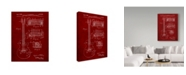 "Trademark Innovations Cole Borders 'Guitar 4' Canvas Art - 24"" x 18"" x 2"""