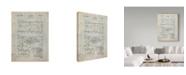 "Trademark Global Cole Borders 'Mechanics' Canvas Art - 24"" x 18"" x 2"""
