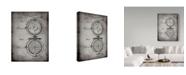 "Trademark Global Cole Borders 'Waffle Iron' Canvas Art - 47"" x 35"" x 2"""