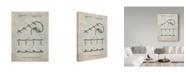 "Trademark Innovations Cole Borders 'Christmas Lights' Canvas Art - 47"" x 35"" x 2"""