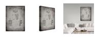 "Trademark Innovations Cole Borders 'Football Pants' Canvas Art - 47"" x 35"" x 2"""