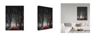 "Trademark Global David Senechal 'End Of Birthday' Canvas Art - 24"" x 2"" x 32"""