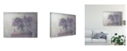 "Trademark Global Delphine Devos 'Sweet Lilacs Purple' Canvas Art - 32"" x 2"" x 24"""