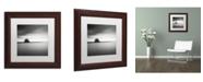 """Trademark Global Dave MacVicar 'Erieau 2' Matted Framed Art - 11"""" x 11"""" x 0.5"""""""