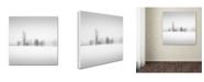 "Trademark Global Dave MacVicar 'Winter Fog' Canvas Art - 24"" x 24"" x 2"""