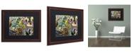 "Trademark Global Dan Monteavaro 'IMPOSSIBLE' Matted Framed Art - 20"" x 16"" x 0.5"""