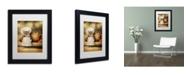 "Trademark Global J Hovenstine Studios 'Mice Series #6.5' Matted Framed Art - 11"" x 14"" x 0.5"""