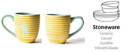 Coton Colors by Laura Johnson Yellow In Dog Coffees Mug