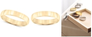 Macy's 14k Gold 4mm Wedding Band