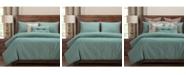 PoloGear Belmont Turqouise 6 Piece Full Size Luxury Duvet Set