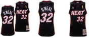 Mitchell & Ness Men's Shaquille O'Neal Miami Heat Authentic Jersey