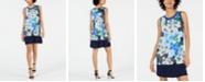 John Paul Richard Petite Floral-Print Dress