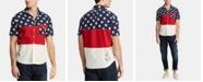 Polo Ralph Lauren Men's Classic Fit Americana Colorblocked Shirt